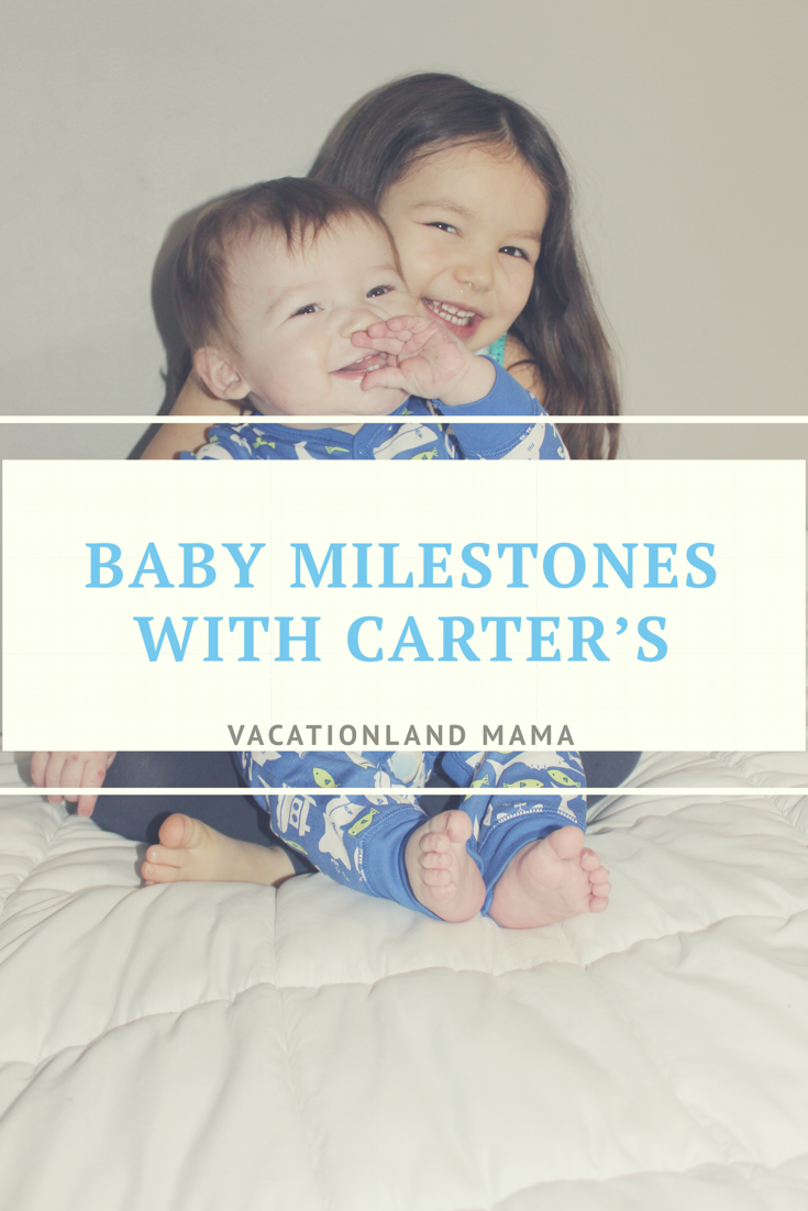 Baby Milestones with Carter's