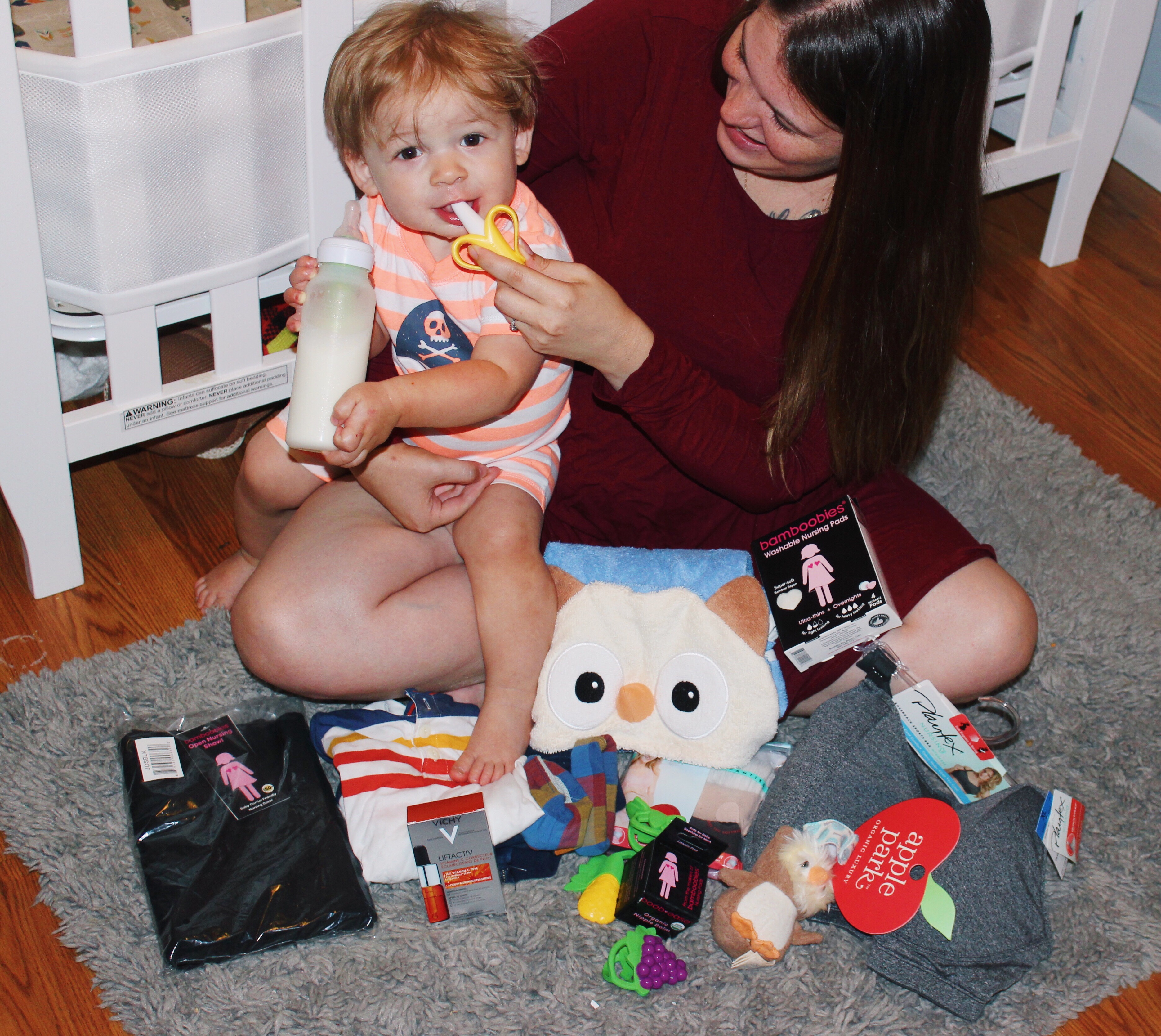 New Mom Must Have Items with Babbleboxx